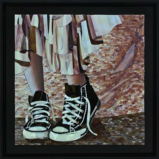 Mosaic art - Lin Schorr
