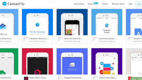 web design tools: Inspire