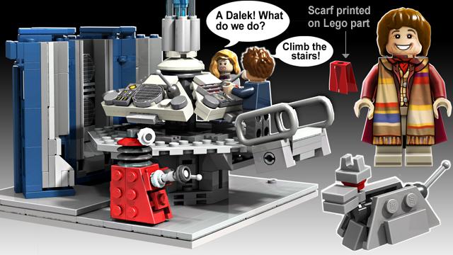 Lego Who scene
