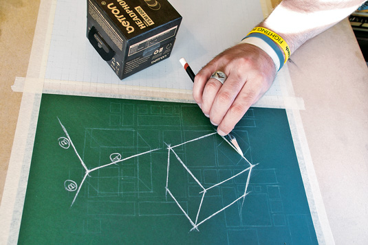 How to draw basic shapes: natural cubes