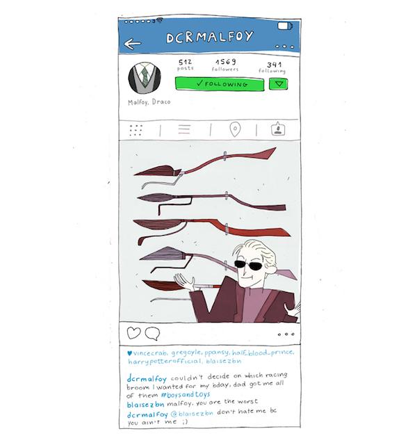 harry potter instagrams