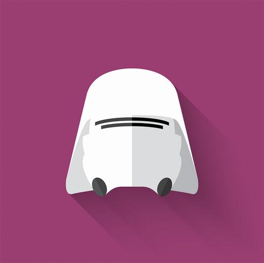 Star Wars Flat