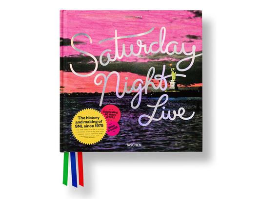 Saturday Night Live book, by Pentagram for Taschen