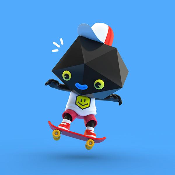 3D character designs