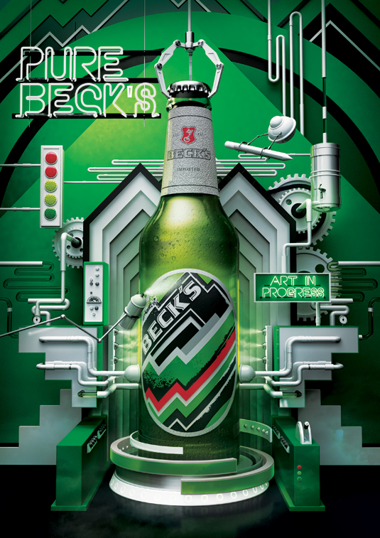Branding campaigns: Beck's: Art in Progress