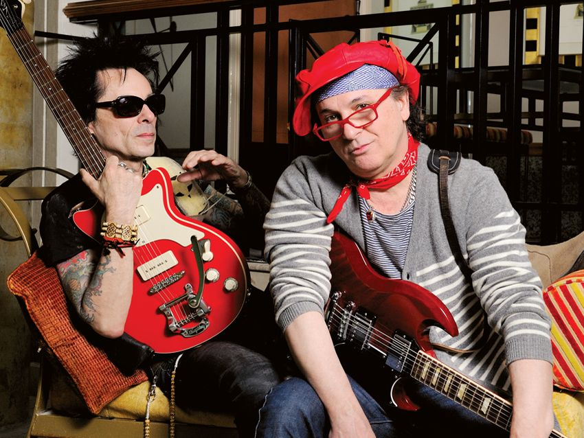 interview  new york dolls guitarists sylvain sylvain and