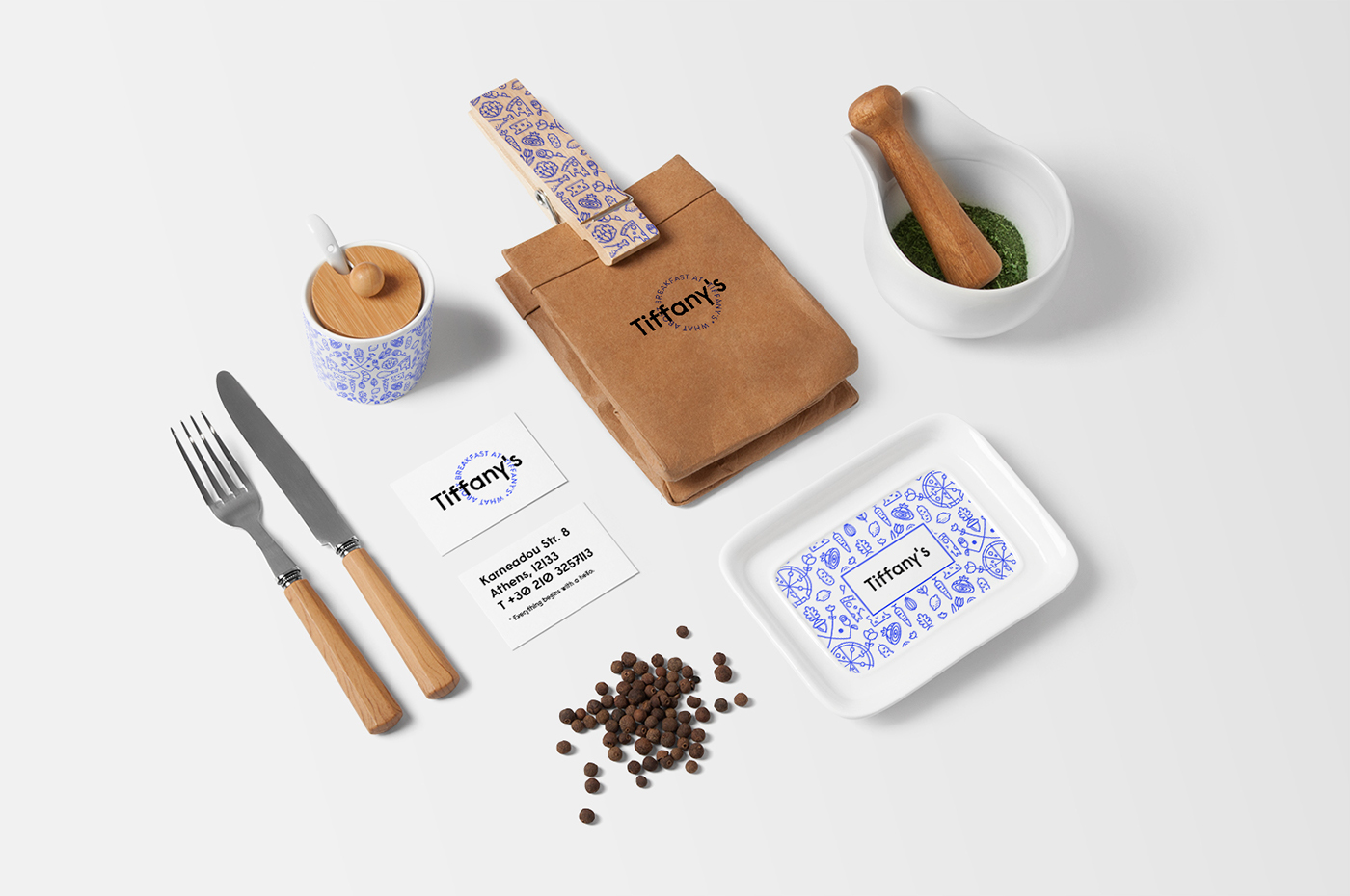 breakfast at tiffanys branding