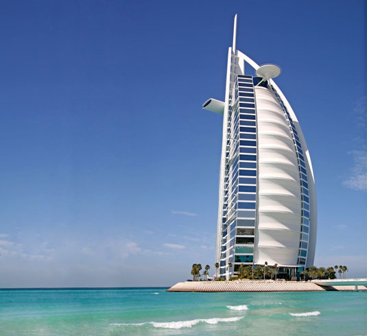 Design landmarks: The Burj al Arab Hotel