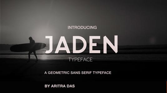 Jaden font