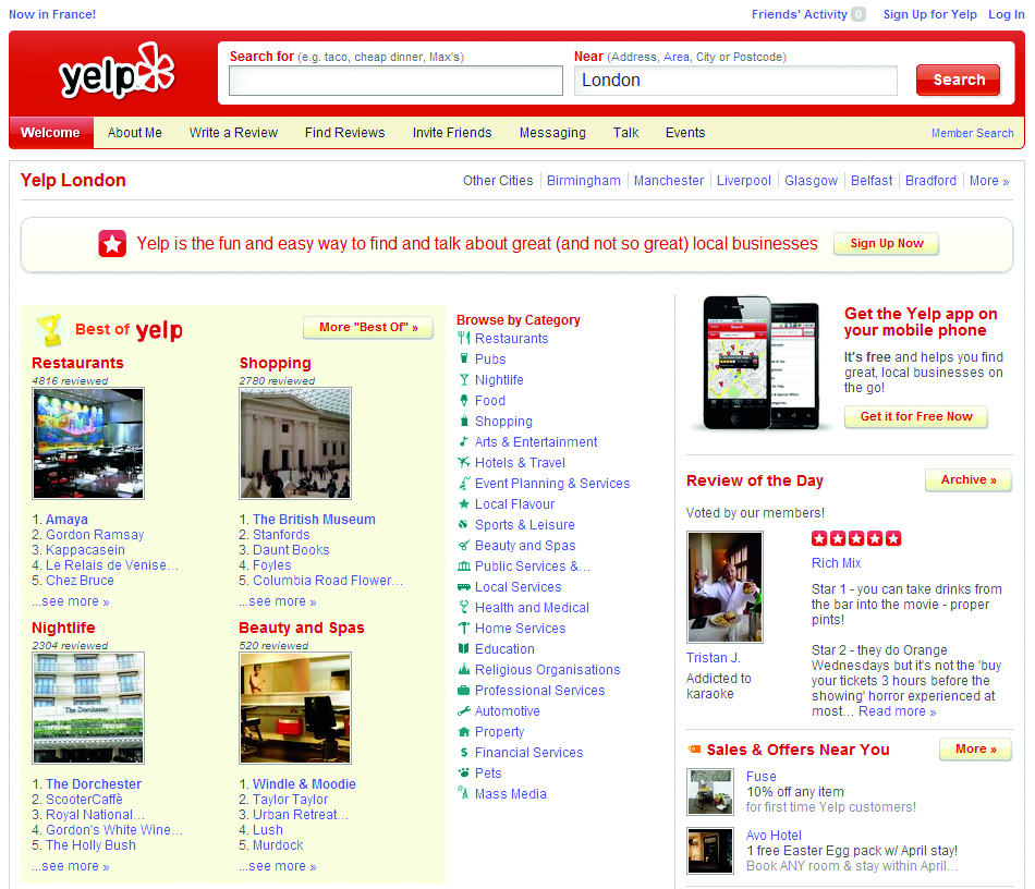 Getting good reviews on sites like Yelp can be a huge boost to your SEO