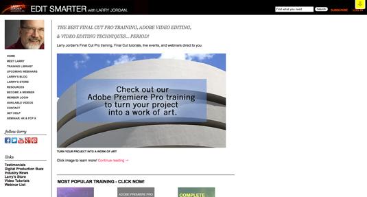 Free training resources: Larry Jordan