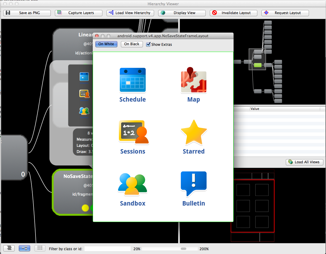 HierarchyViewer lets you delve deeper into your android UIs