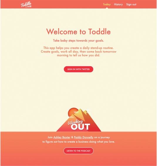 Toddle app