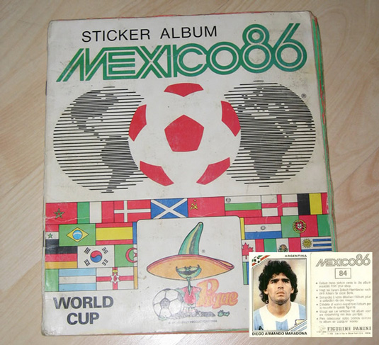Design classics: World Cup sticker album