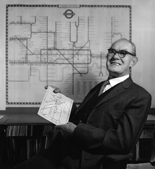 london underground map anniversary