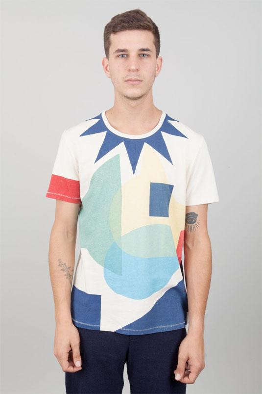 t-shirt design: Folk