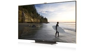 samsung unleashes 75 inch led tv for europe techradar. Black Bedroom Furniture Sets. Home Design Ideas