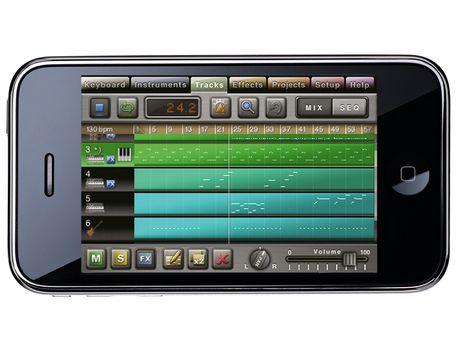 round up 7 iphone music making apps musicradar. Black Bedroom Furniture Sets. Home Design Ideas