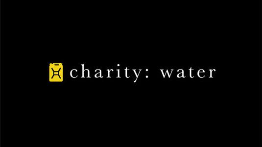 Top brands: Charity Water