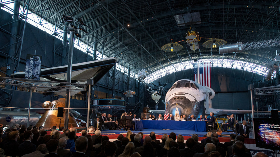 Space Shuttle retirement ceremony