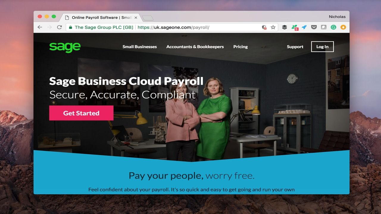 Sage Business Cloud Payroll