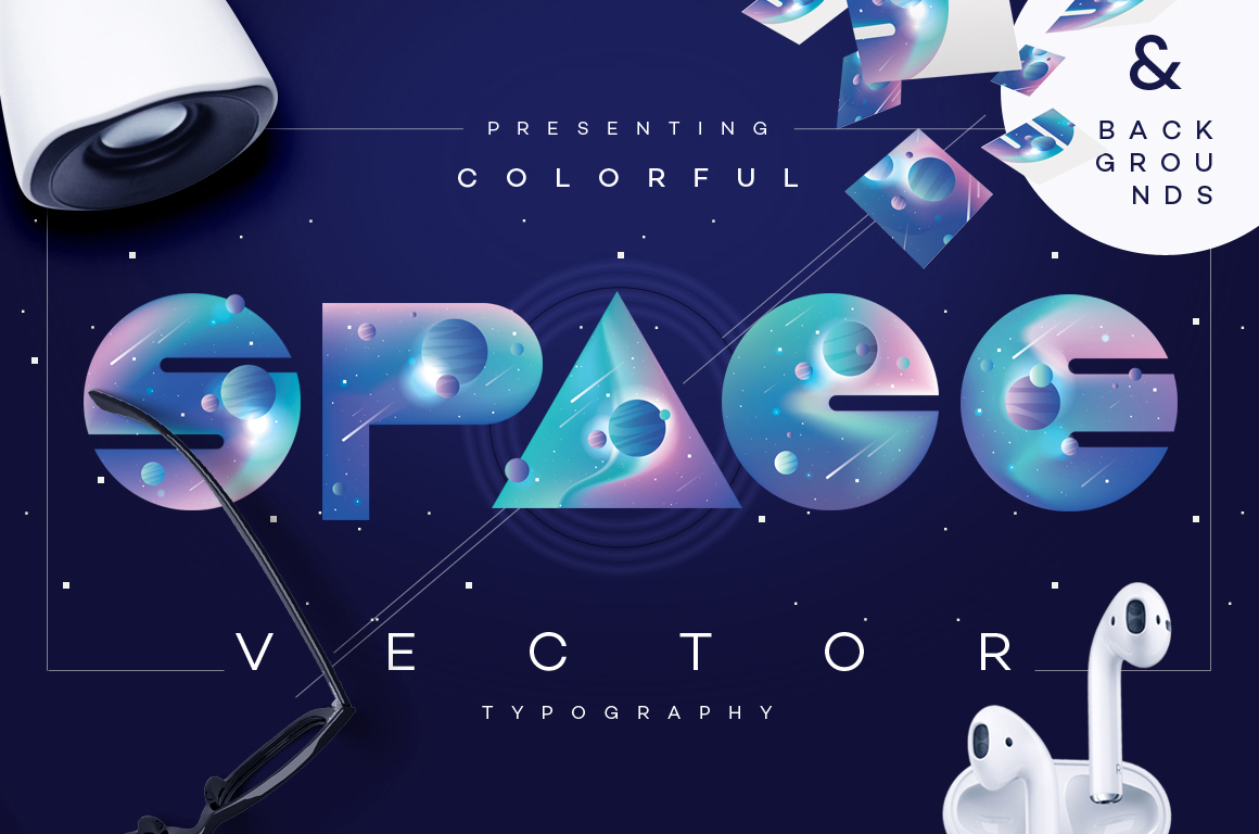 Space Vectors asset pack by Diana Hlevnjak / Polar Vectors
