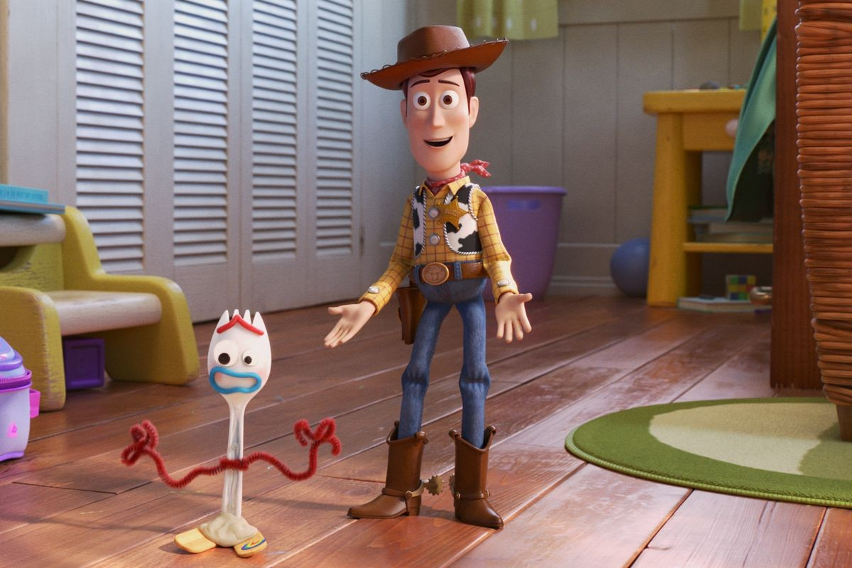 Buzz and Forky