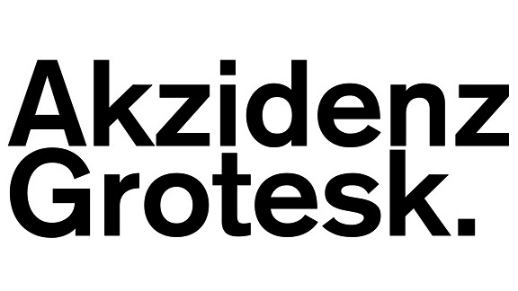Akzidenz Grotesk typeface