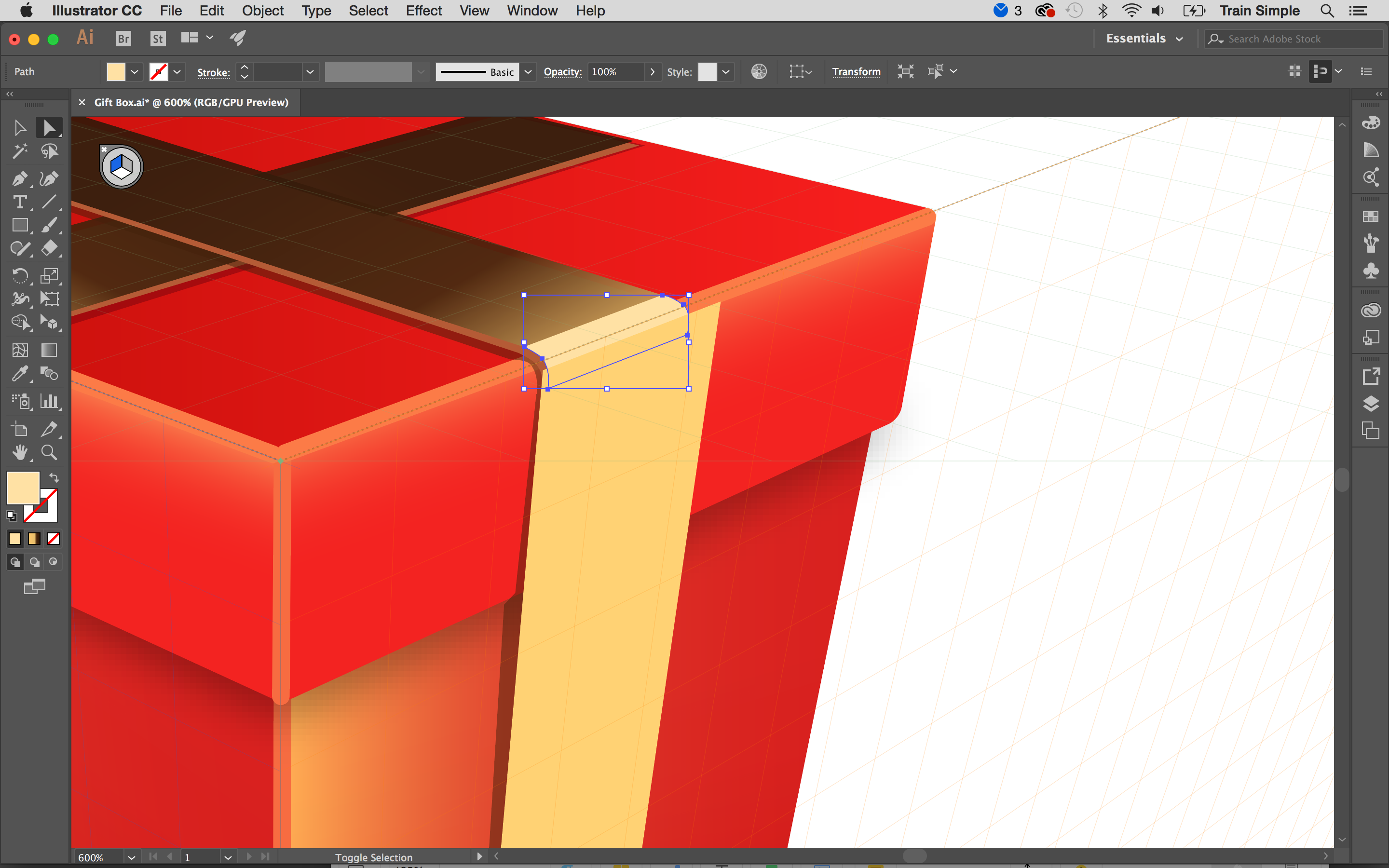 how to draw a perspective grid in illustrator