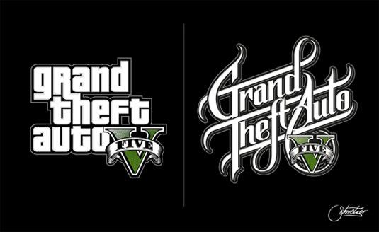 gta logo redesign