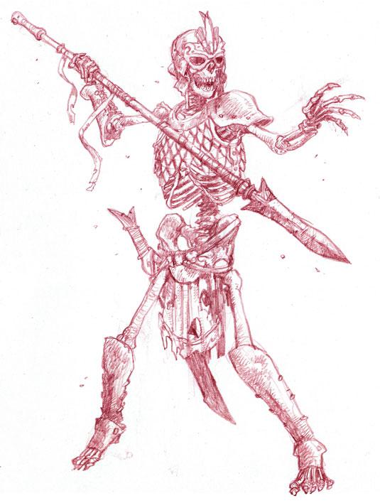 skeleton fearsom