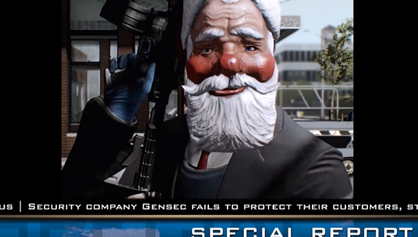 Payday 2 gets free DLC for Christmas, more content over next 20 ...