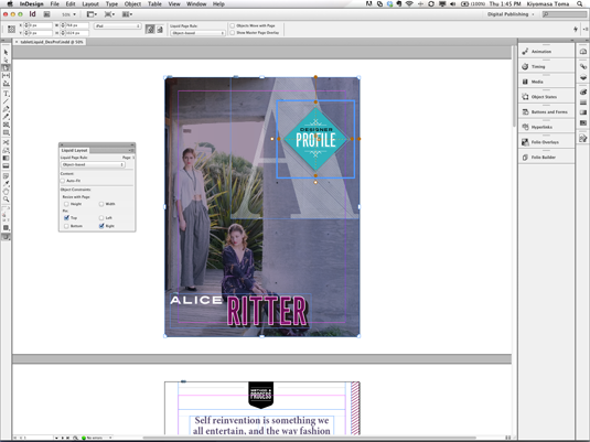 Wireframe tools - InDesign