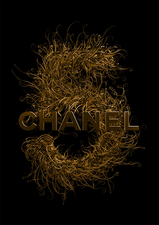 chanel typography