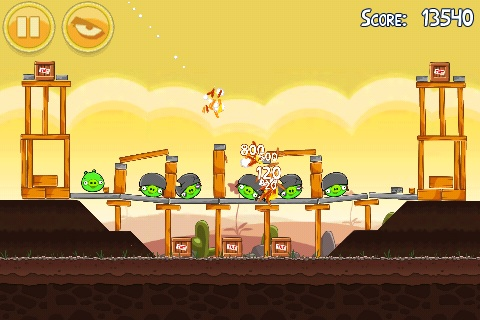 Simple game controls and easy to pick up and put down - key reasons why Angry Birds has become a sensational hit