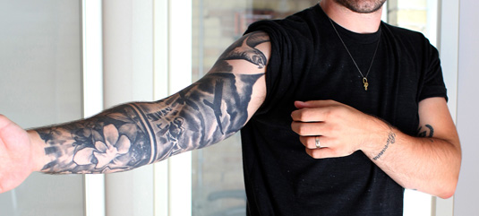 awesome tattoos: Chuck Anderson