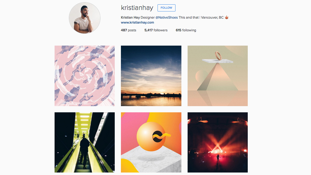 Graphic designers to follow on Instagram: Kristian Hay
