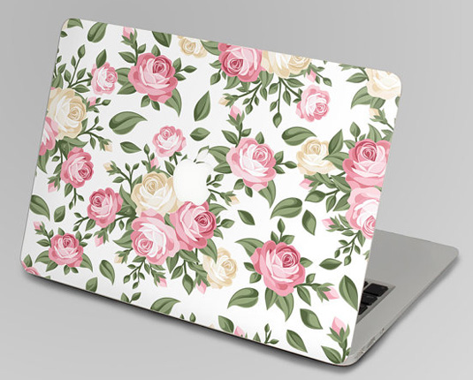 Mac decals - Flower