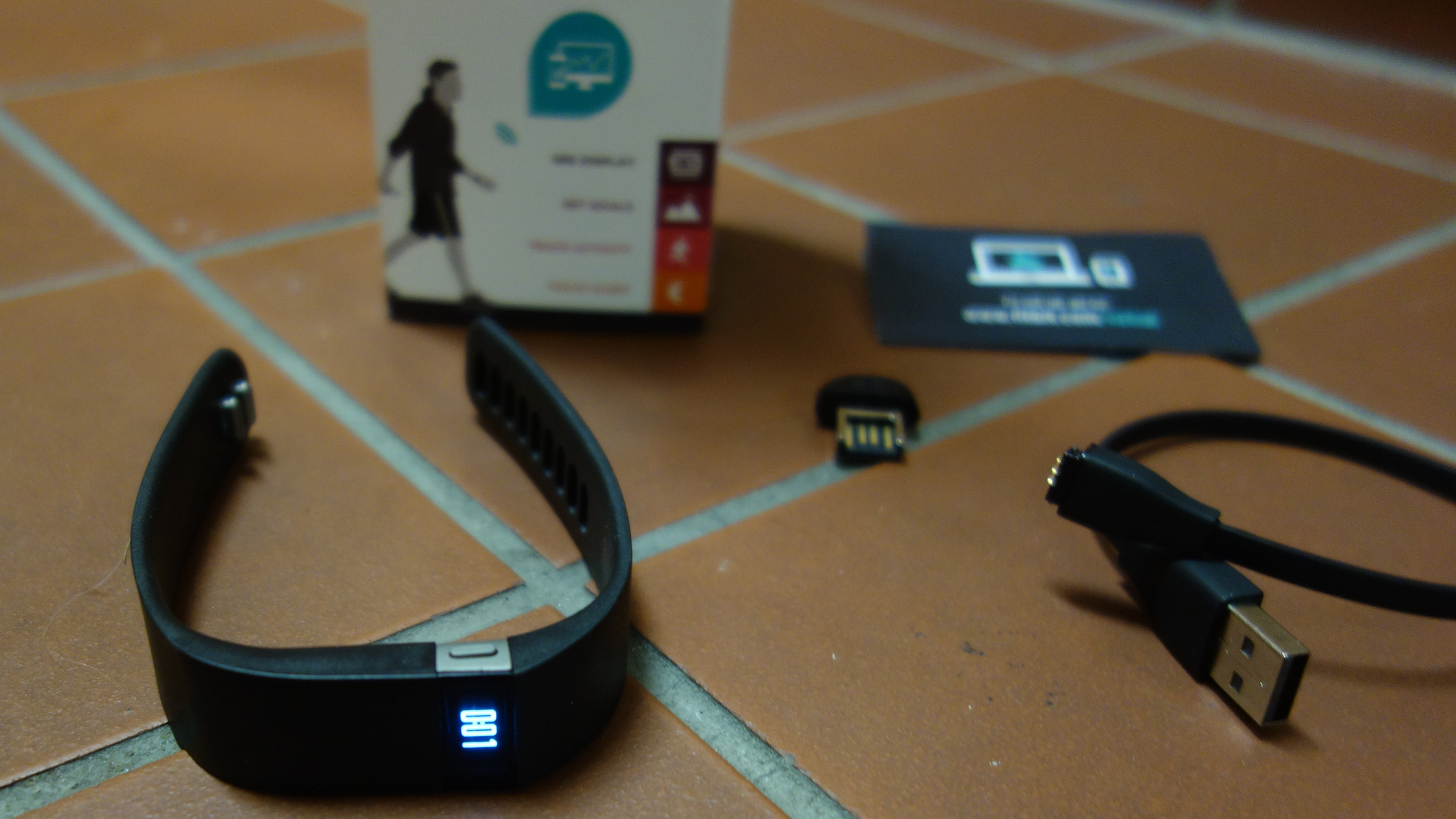 What's included with a Fitbit Force