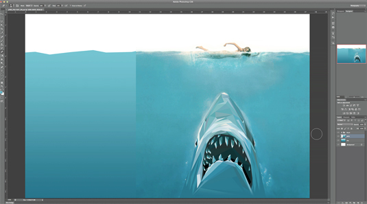 Photoshop tutorials: polygon art
