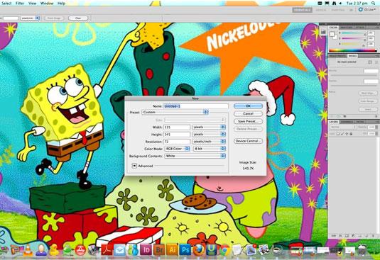 Make a tutorial video: prepare a neutral workspace