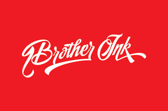 Home Brush font