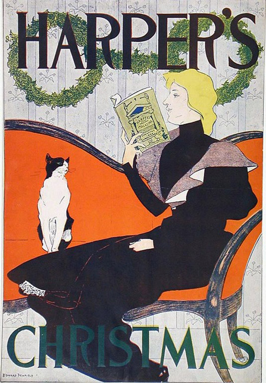 Vintage posters - Harper's
