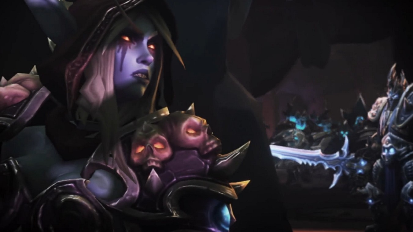 Having sex with sylvanas wildrunner erotic video