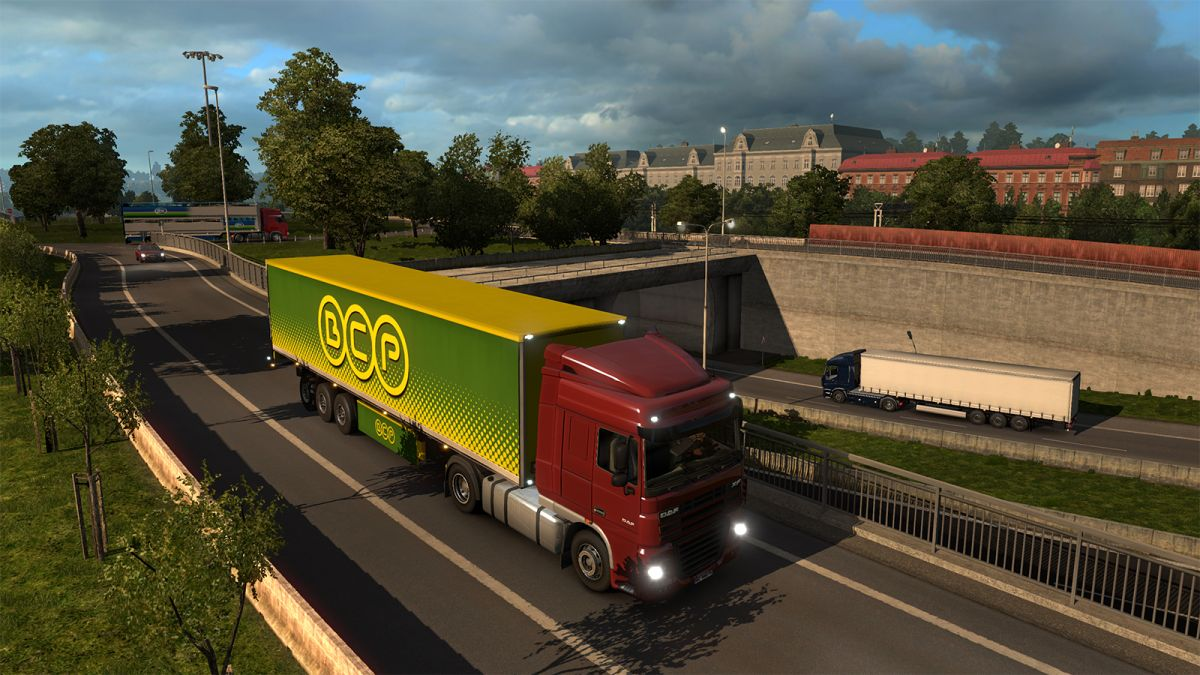 euro truck simulator 2 dlc screenshots take a tour of oslo. Black Bedroom Furniture Sets. Home Design Ideas