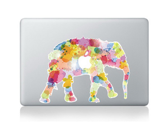 Mac decals - elephant