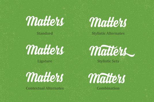 Steady font