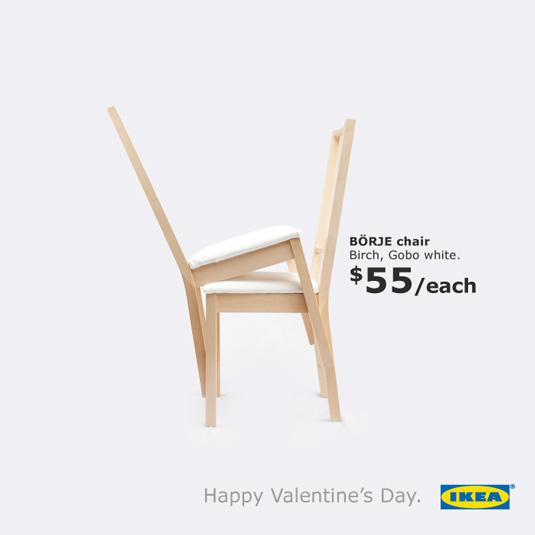 February print ads: Ikea