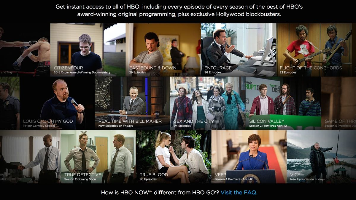 Hbo now everything you need to know about hbos standalone hbo now everything you need to know about hbos standalone service techradar ccuart Choice Image