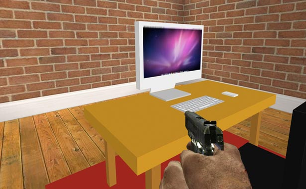 CSS 3D transforms: A 3D FPS concept